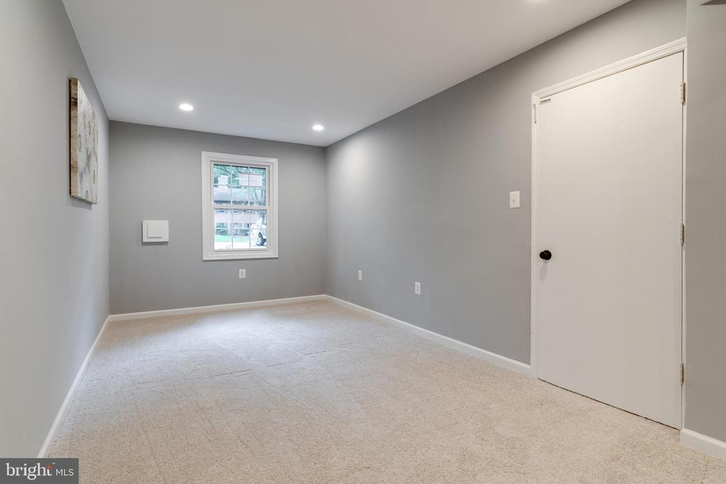 Extra Long Rec Room - 12008 TROTTER LN, RESTON