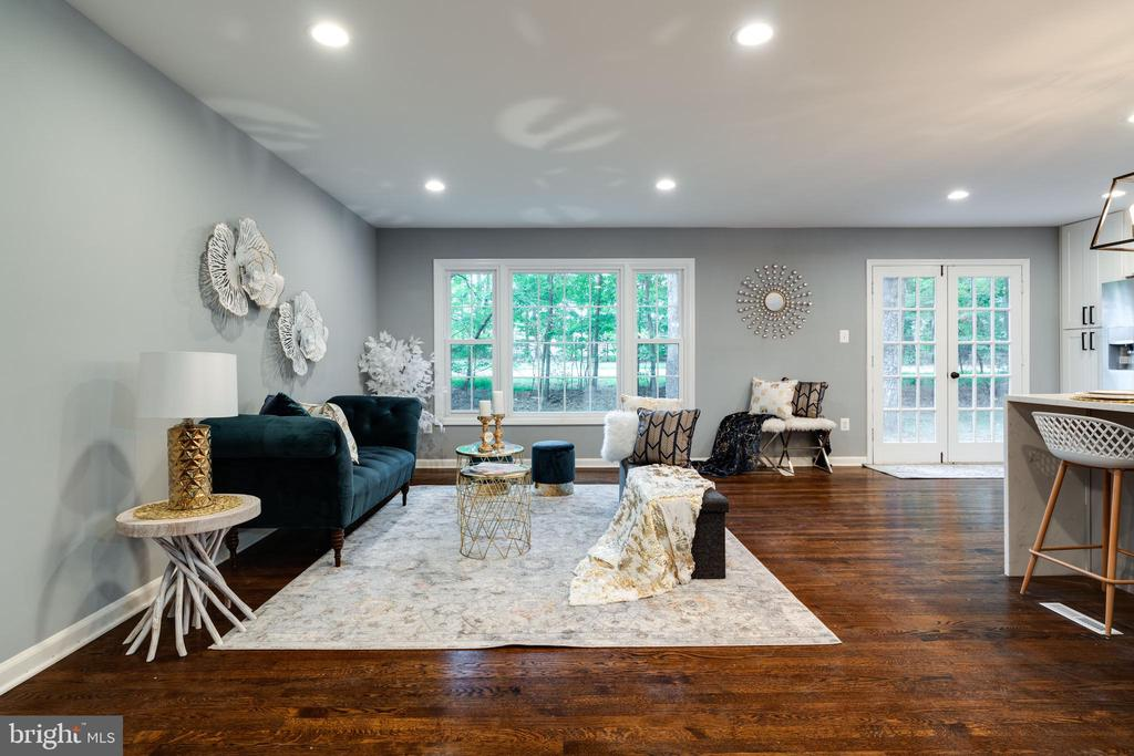 Gorgeous Living Room! - 12008 TROTTER LN, RESTON