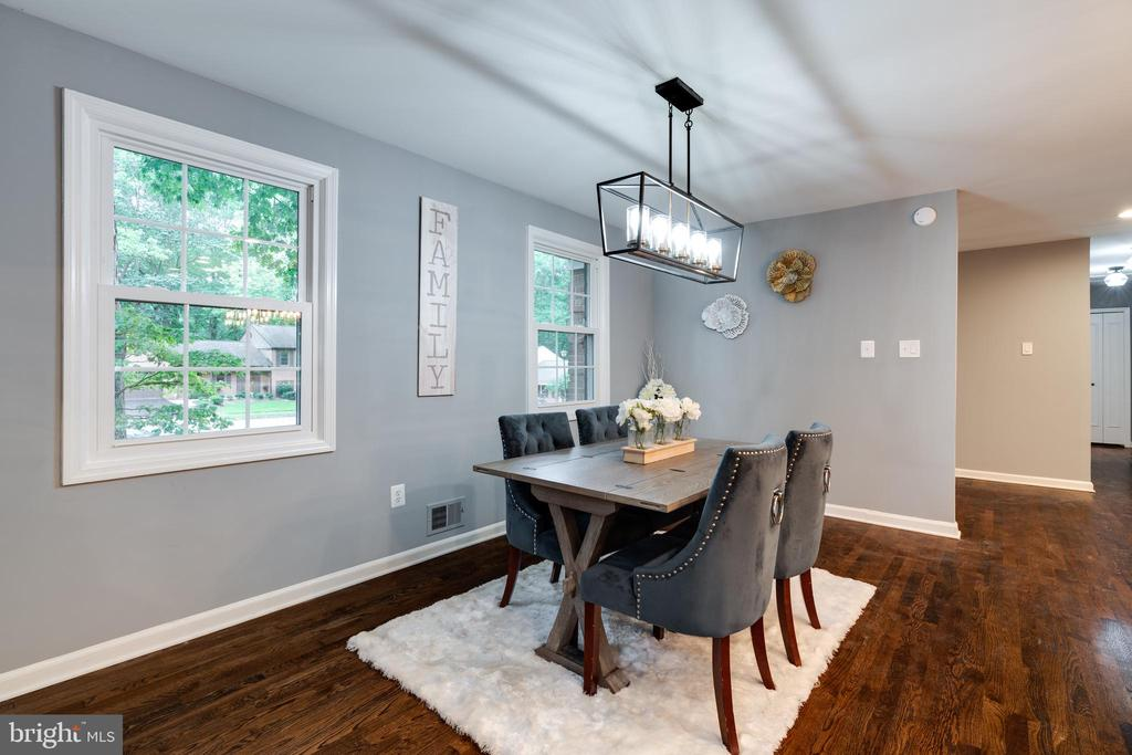 Amazing Dinning Area! - 12008 TROTTER LN, RESTON