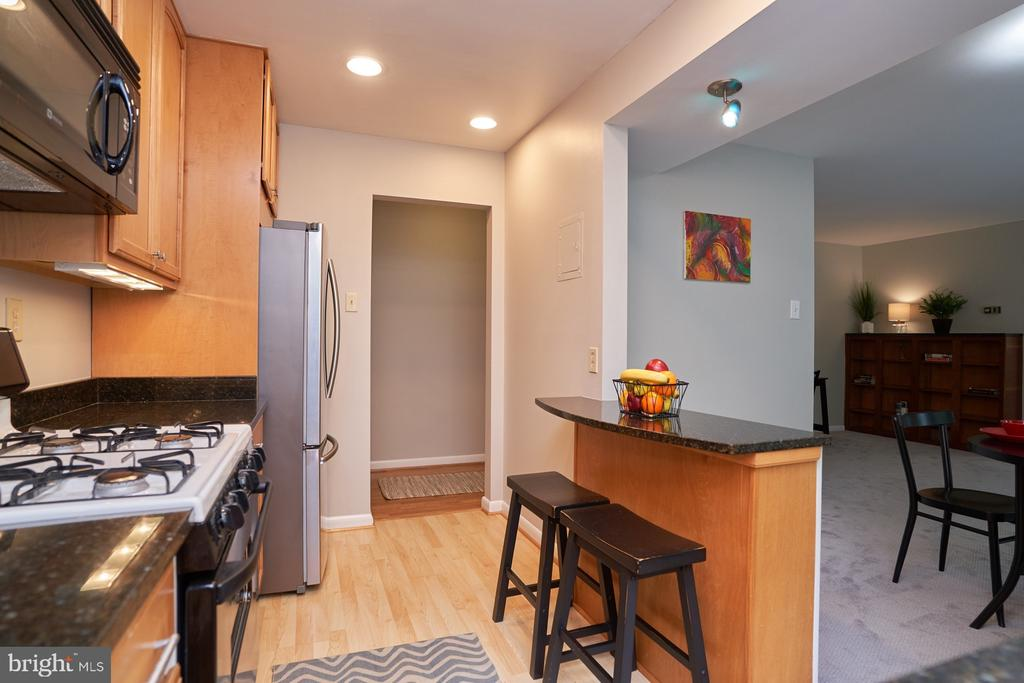 Updated Kitchen w/Breakfast Bar - 10607 KENILWORTH AVE #K-104, BETHESDA