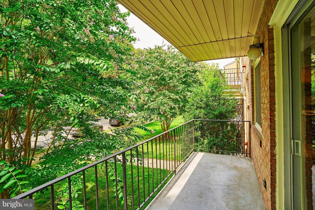 Balcony - 10607 KENILWORTH AVE #K-104, BETHESDA
