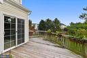 Deck view. - 44127 ALLDERWOOD TER, ASHBURN