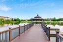 Community dock and gazebo! Great for family fun! - 44127 ALLDERWOOD TER, ASHBURN