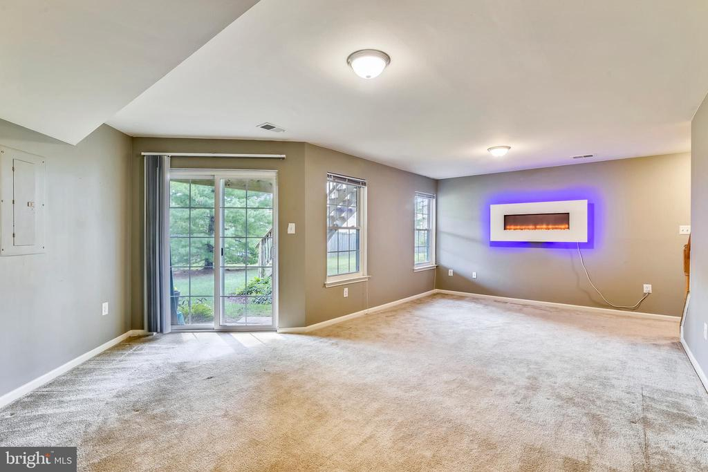 Lower level rec room walks out to backyard! - 44127 ALLDERWOOD TER, ASHBURN