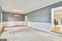 Living/Dining room, lots of natural lighting! - 44127 ALLDERWOOD TER, ASHBURN