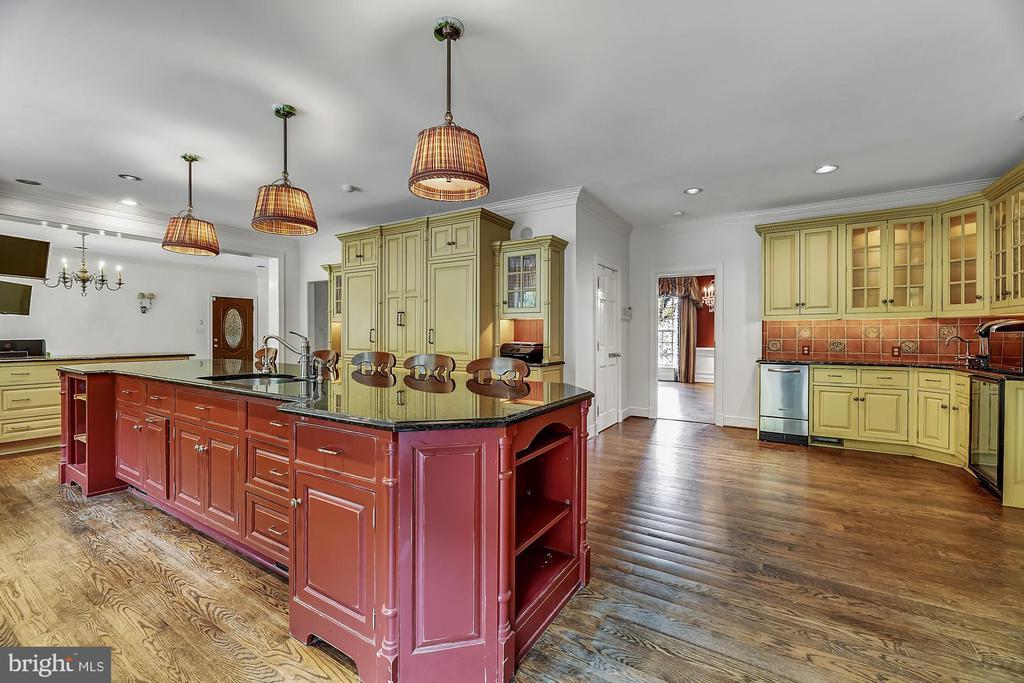 Gourmet kitchen - 13224 LONGNECKER RD, GLYNDON
