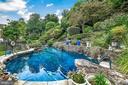 Salt water heated pool - 13224 LONGNECKER RD, GLYNDON