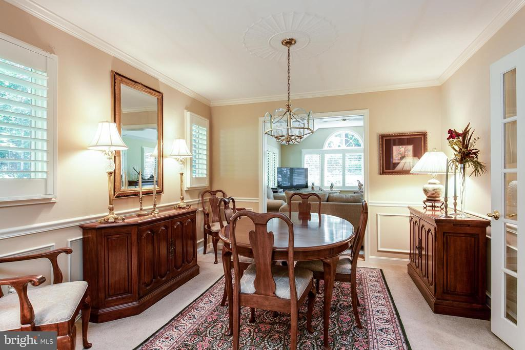 Dining room - 6093 ARRINGTON DR, FAIRFAX STATION