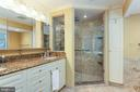 Master bath - 6093 ARRINGTON DR, FAIRFAX STATION