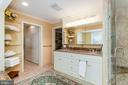 Master baath - 6093 ARRINGTON DR, FAIRFAX STATION