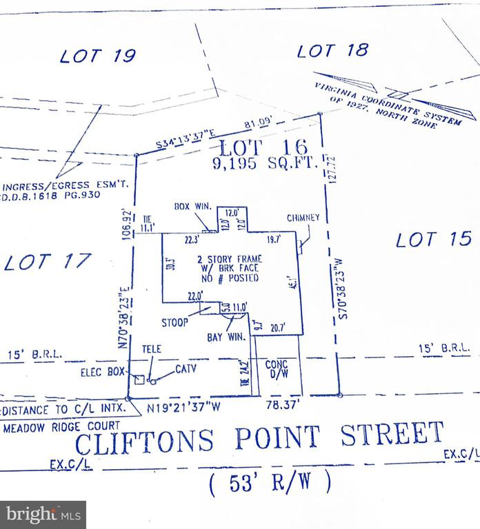Plat - 20386 CLIFTONS POINT ST, POTOMAC FALLS