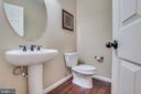Downstairs Powder Room - 203 APRICOT ST, STAFFORD