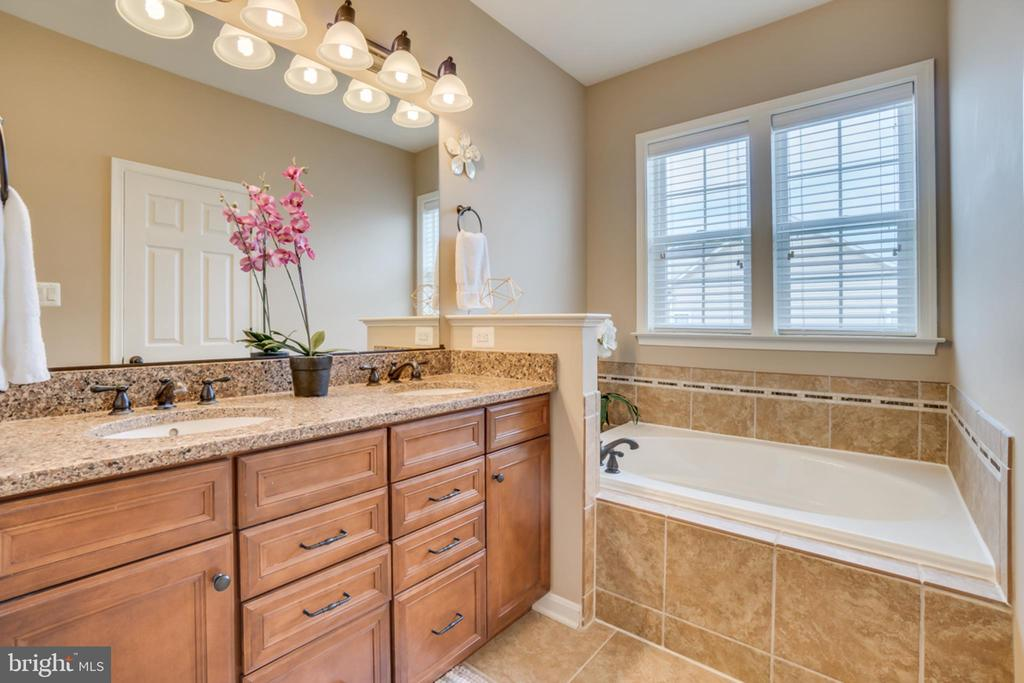 Beautiful Double Sink Master Vanity - 203 APRICOT ST, STAFFORD