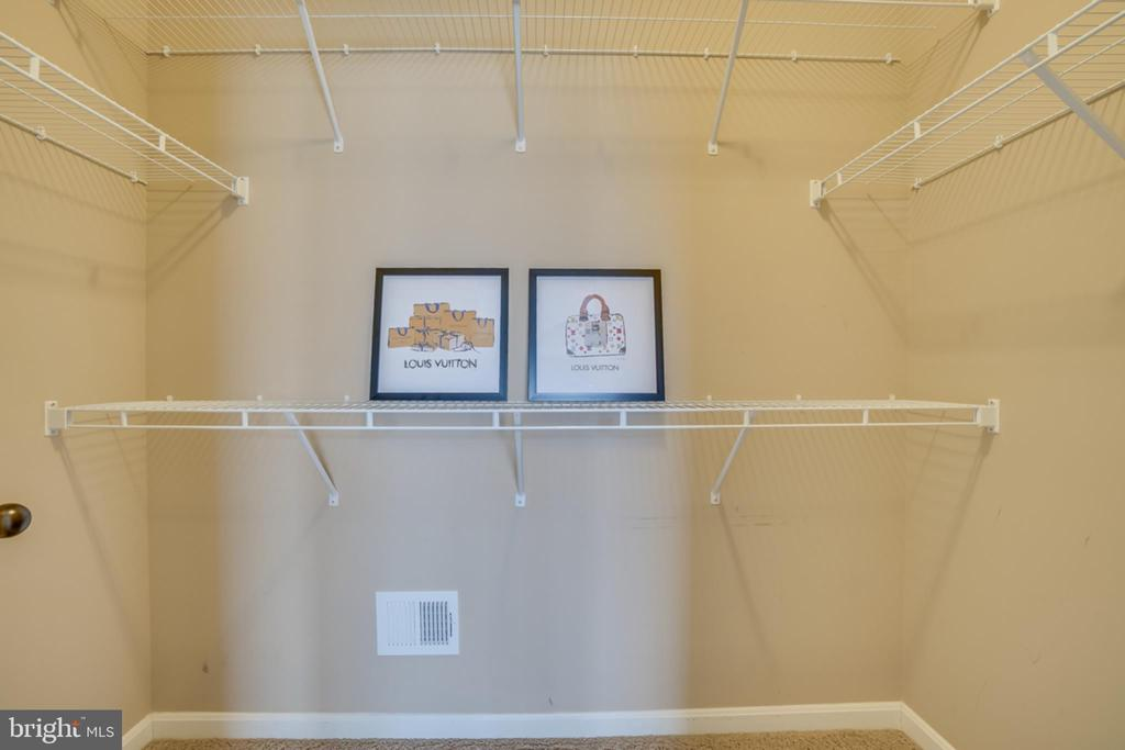 Large Master Walk In Closet - 203 APRICOT ST, STAFFORD