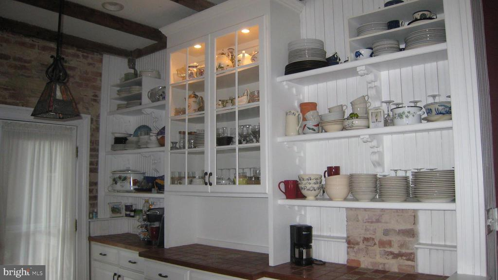Lots of stylish storage in this kitchen. - 2010 FALL HILL AVE, FREDERICKSBURG