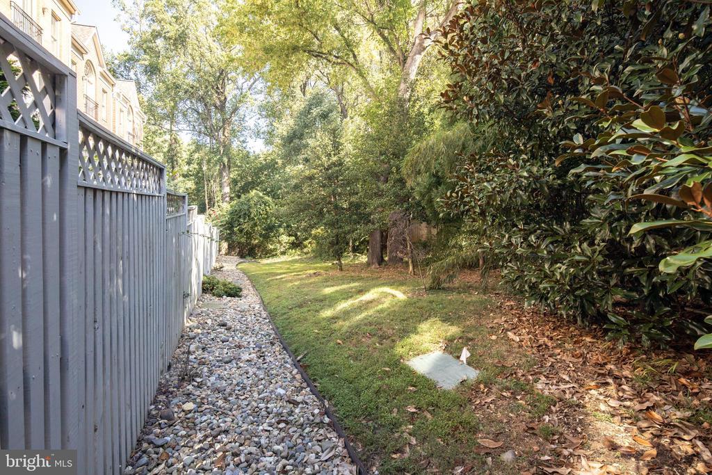 Path Through Parkland behind the House - 2131 N SCOTT ST, ARLINGTON