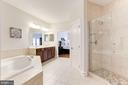 Luxury Master Bath w/ Ultra Shower - 18837 ACCOKEEK TER, LEESBURG