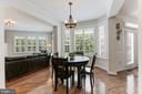 Breakfast Area w/ Designer Lighting - 18837 ACCOKEEK TER, LEESBURG