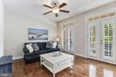 Light Filled Living Room w/ Transom Windows - 18837 ACCOKEEK TER, LEESBURG