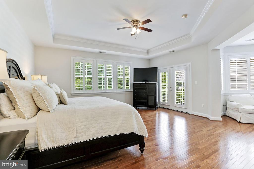 Tray Ceiling in Master Bedroom - 18837 ACCOKEEK TER, LEESBURG