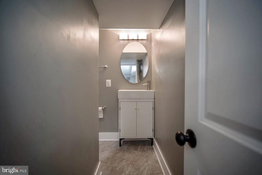 Renovated Basement Bath - 5106 JAY ST NE, WASHINGTON