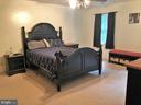 Master Bedroom - 8012 PEMBROKE CIR, SPOTSYLVANIA