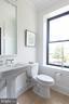 1/2 bath for guests - 715 K ST NE #2, WASHINGTON