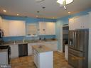 Recently upgraded kitchen. - 6205 HAWSER DR, KING GEORGE