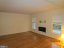 Living room is huge, bright and open. - 6205 HAWSER DR, KING GEORGE