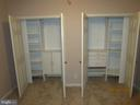 Most closets feature full organizing systems. - 6205 HAWSER DR, KING GEORGE