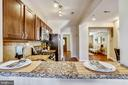 Open Kitchen with Breakfast Bar - 1718 M ST NE, WASHINGTON