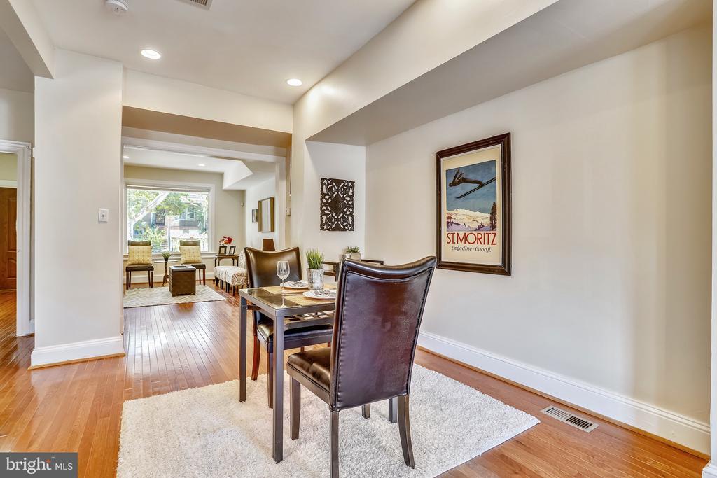 Main Level Dining Area - 1718 M ST NE, WASHINGTON