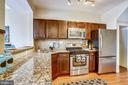 Open kitchen with so much counter space! - 1718 M ST NE, WASHINGTON