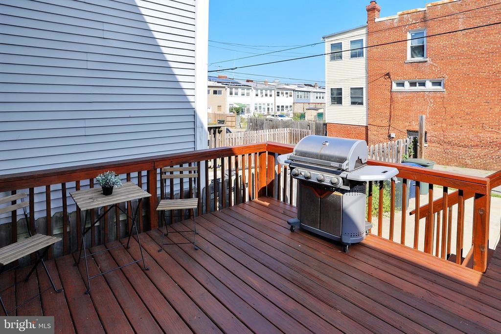 Back Deck Great for Entertaining! - 1718 M ST NE, WASHINGTON