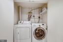Washer and Dryer on Lower Level - 1718 M ST NE, WASHINGTON