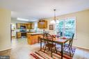 Eat in Kitchen - 9806 RAMSAY DR, FREDERICKSBURG