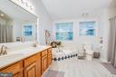 Corner Soaking Tub & Separate Shower - 9806 RAMSAY DR, FREDERICKSBURG