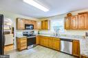 Kitchen w/ Granite Countertops - 9806 RAMSAY DR, FREDERICKSBURG