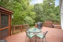 Room for tables, benches, and your grill! - 9806 RAMSAY DR, FREDERICKSBURG