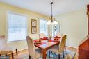 Formal Dining Room - 9806 RAMSAY DR, FREDERICKSBURG