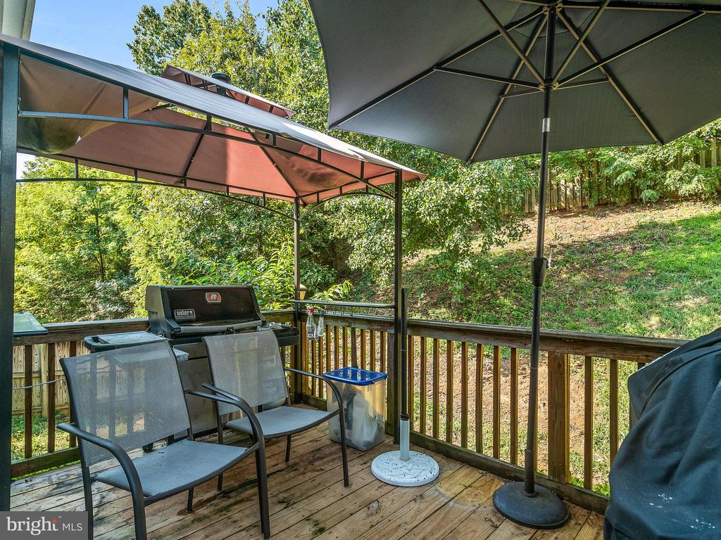 Back Deck - 94 CHADWICK DR, STAFFORD
