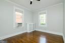 1st Floor Bedroom - 1307 LONGFELLOW ST NW, WASHINGTON