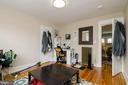 3rd Floor apt. Bedroom - 1307 LONGFELLOW ST NW, WASHINGTON