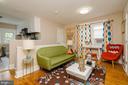 3rd Floor Apt. Living Room - 1307 LONGFELLOW ST NW, WASHINGTON