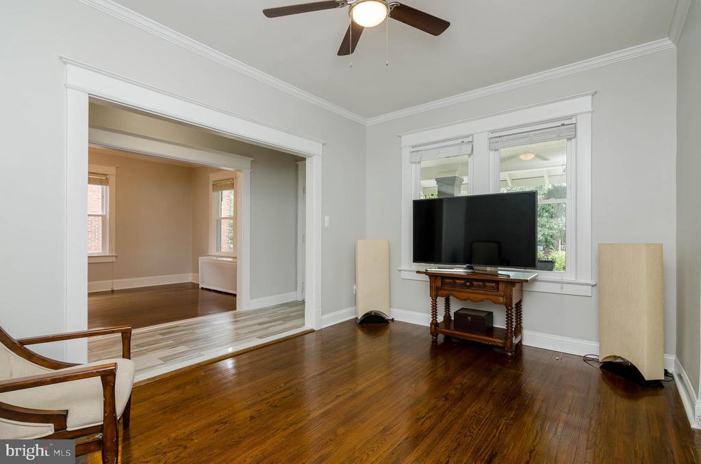 1st Floor Living Room - 1307 LONGFELLOW ST NW, WASHINGTON