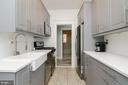 1st Floor Kitchen - 1307 LONGFELLOW ST NW, WASHINGTON