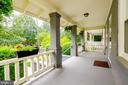 Porch - 1307 LONGFELLOW ST NW, WASHINGTON