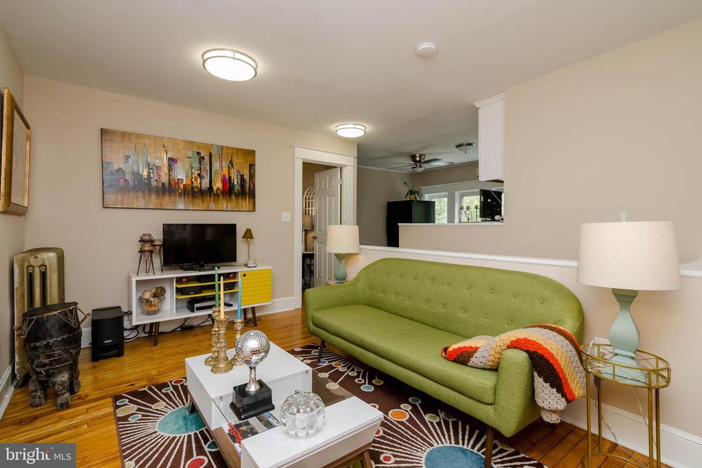 3rd Floor Living Room - 1307 LONGFELLOW ST NW, WASHINGTON
