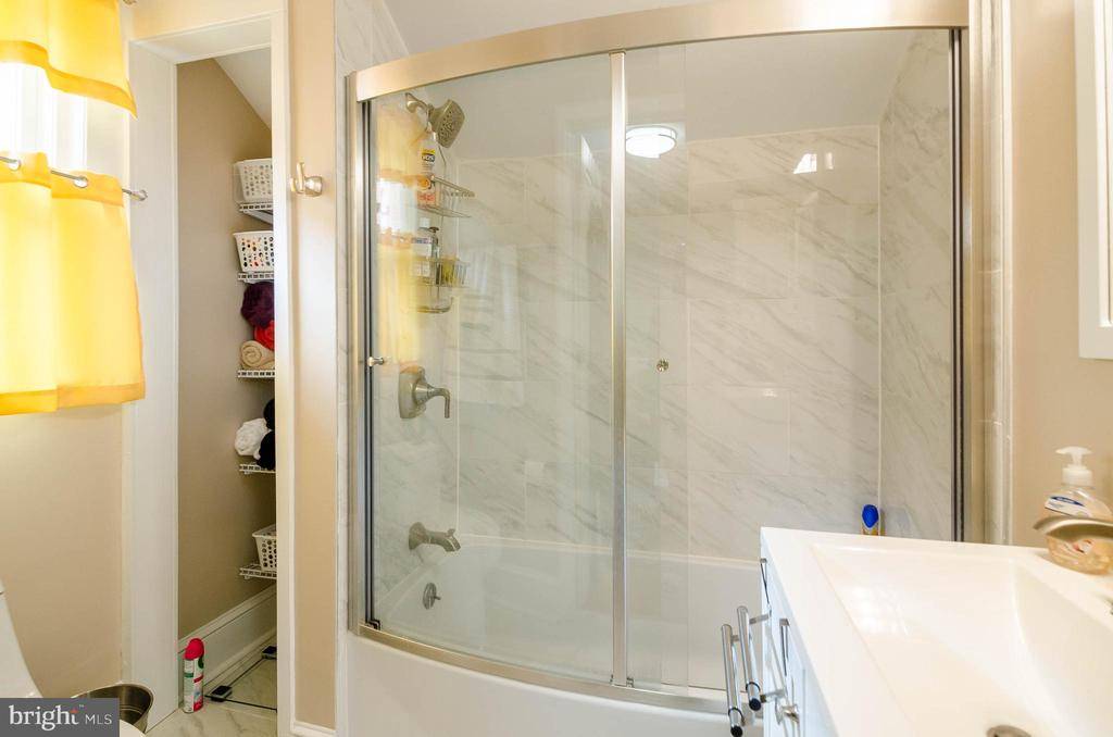 3rd Floor Bath - 1307 LONGFELLOW ST NW, WASHINGTON