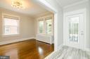 1st Floor Dining Room - 1307 LONGFELLOW ST NW, WASHINGTON